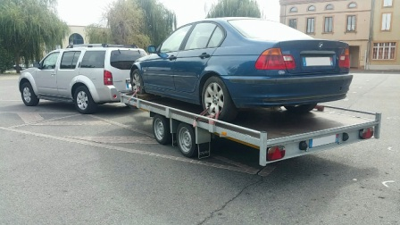Location de remorque porte voiture a toulouse - Remorque porte voiture double essieux ...